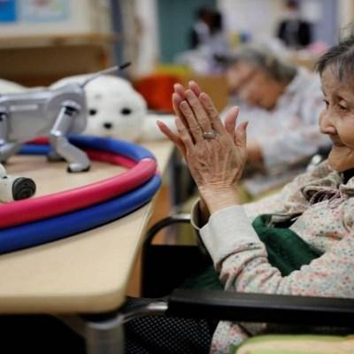 Japón prueba robots androides como cuidadores de ancianos