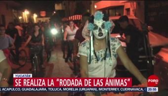 Foto: Rodada Ánimas Yucatán 31 Octubre 2019