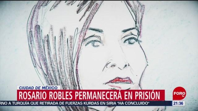 Foto: Rosario Robles Permanecerá Prisión Santa Martha Acatitla 22 Octubre 2019