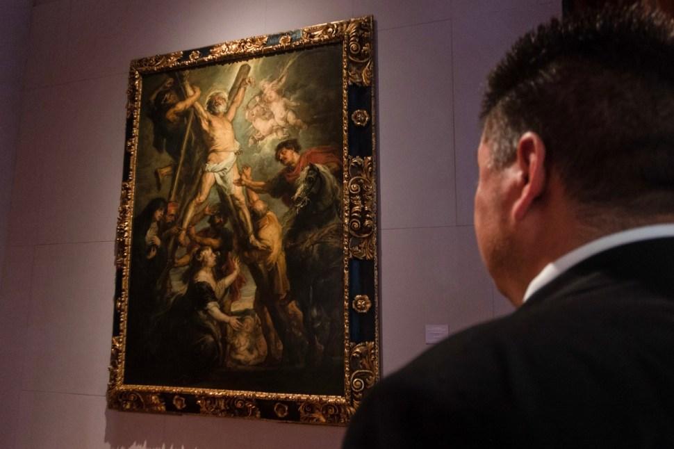 Llega al Munal de las últimas obras de Rubens