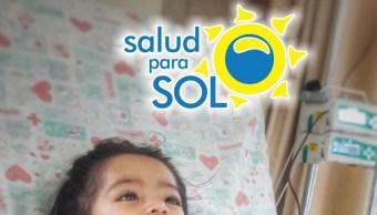Foto: Sol, una niña de un año 10 meses de edad, recibe cada 30 días transfusiones de sangre en el Hospital Infantil de México; sin embargo, esto puede llegar a afectar sus órganos por la acumulación de hierro