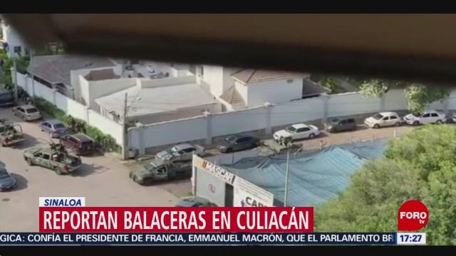 FOTO: Se Desconoce Motivo Múltiples Balaceras Culiacán