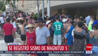 FOTO: Se mantiene saldo blanco tras sismo en Guerrero, 5 octubre 2019