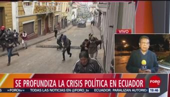 Foto: Se Profundiza Crisis Política Ecuador 9 Octubre 2019