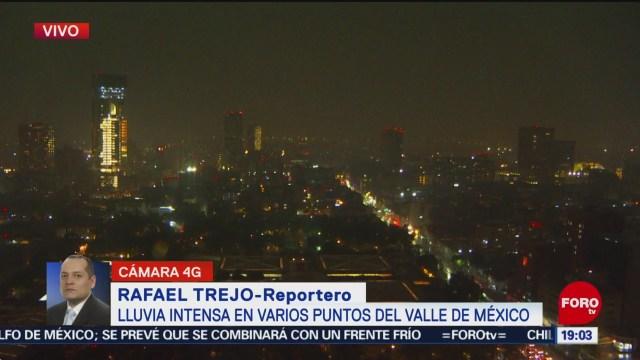 FOTO: Se registran afectaciones por intensas lluvias en la Ciudad de México, 27 octubre 2019