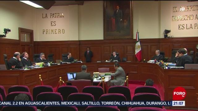 Foto: Senado Alista Proceso Renuncia Ministro Medina Mora 3 Octubre 2019