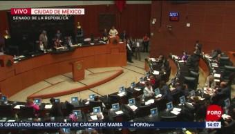 FOTO: Senadores Aprueban Renuncia Ministro SCJN
