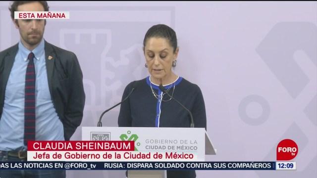 Sheinbaum considera desafortunada decisión de juez en caso Tepito
