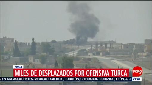 Foto: Suman 70 Mil Desplazados Conflicto Turquía Siria 11 Octubre 2019