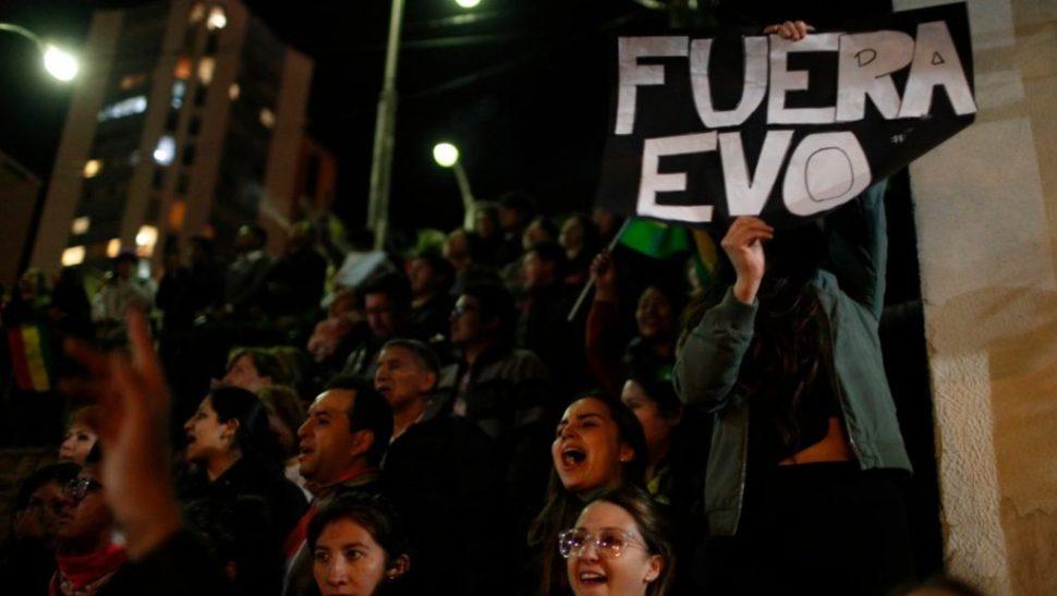 Foto Disturbios en Bolivia por supuesto fraude electoral