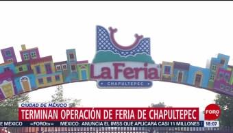 FOTO: Termina Formalmente Operación Feria Chapultepec