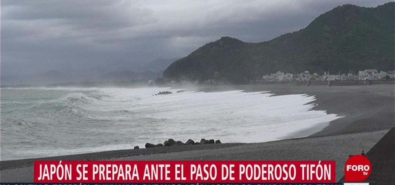 Tifón 'Hagibis' provocará lluvias en Japón, no registradas en 60 años