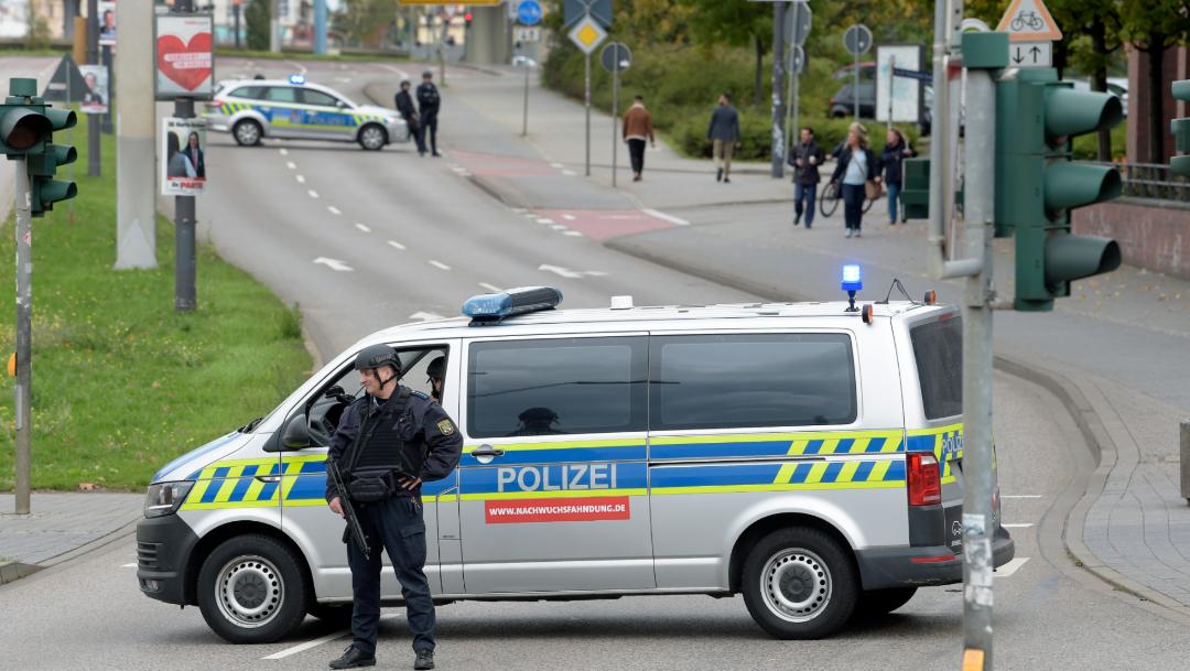 FOTO Tiroteo en Alemania deja dos muertos, hay un detenido (AP)