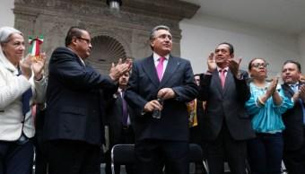 Foto: El titular de la Comisión Nacional de los Derechos Humanos (CNDH), Luis Raúl González, el 11 de octubre de 2019 (Foto: Galo Cañas /Cuartoscuro.com)