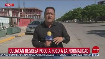 Todavía hay casquillos en calles de Culiacán, tras balaceras por Ovidio Guzmán