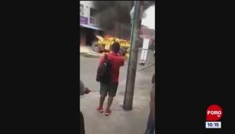 Todo Pasa En China: Explosión de camioneta