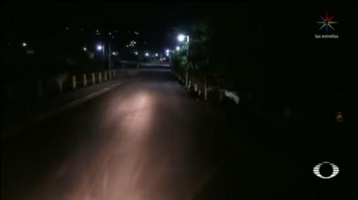 Foto: Video Toque De Queda Apaxtla De Castrejón 8 Octubre 2019