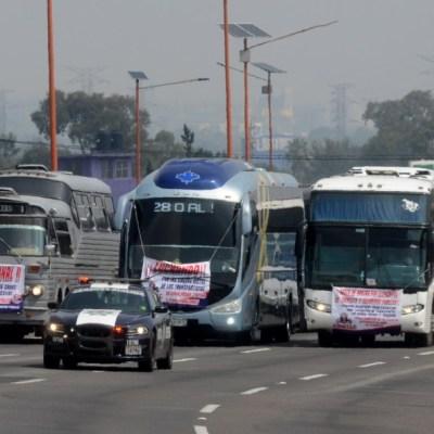 Transportistas detienen bloqueos; acuerdan diálogo con autoridades federales este miércoles