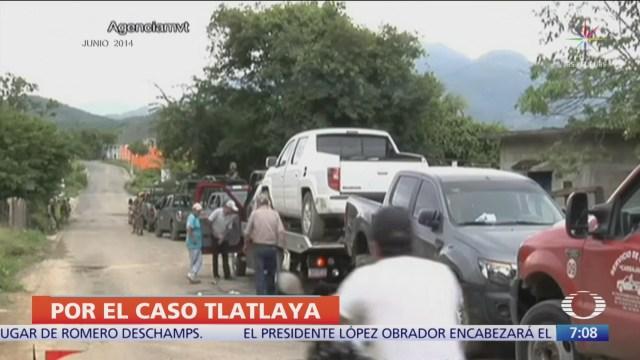 Tribunal ordena reaprehender a siete militares relacionados con caso Tlatlaya