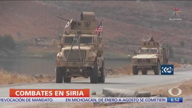 Tropas sirias avanzan tras acuerdo con kurdos