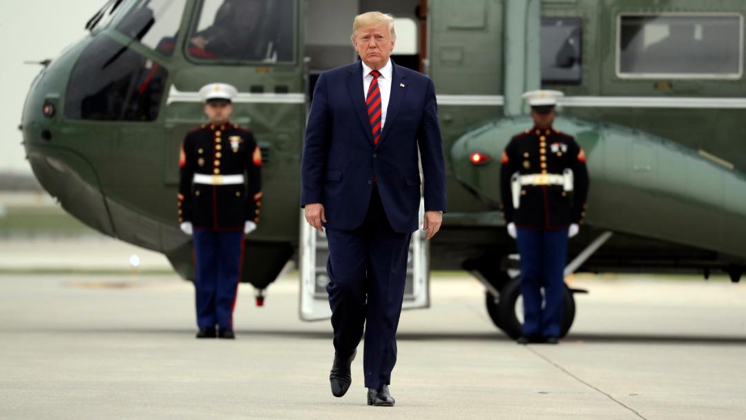 FOTO Donald Trump, presidente de Estados Unidos (AP)