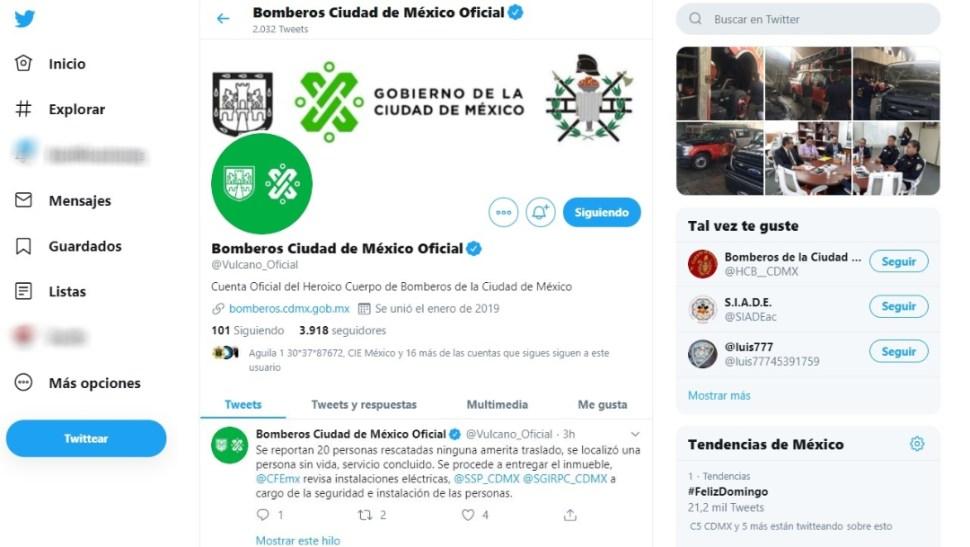 Incendio en Tlatelolco, 13 octubre 2019