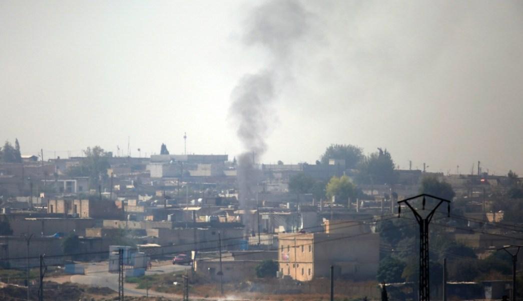 Foto: Bombadeos turcos en Siria, 10 de octubre de 2019, Siria