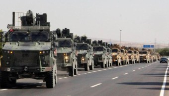 Foto: Turquía inicia la ofensiva militar en Siria contra las milicias kurdosirias, 9 octubre 2019