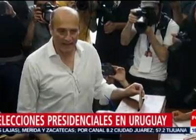 Uruguay registra participación del 89% en elecciones presidenciales