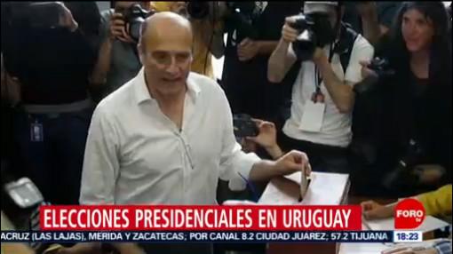 FOTO: Uruguay registra participación del 89% en elecciones presidenciales, 27 octubre 2019
