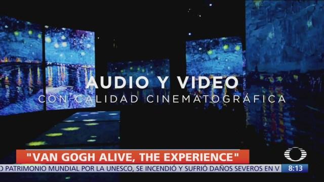 'Van Gogh alive, the experience' llega a México el 20 de febrero