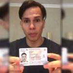 Carlos Enrique Sánchez Aular, un joven de 23 años de edad originario de Venezuela, fue retenido en el aeropuerto de Cancún, 5 octubre 2019