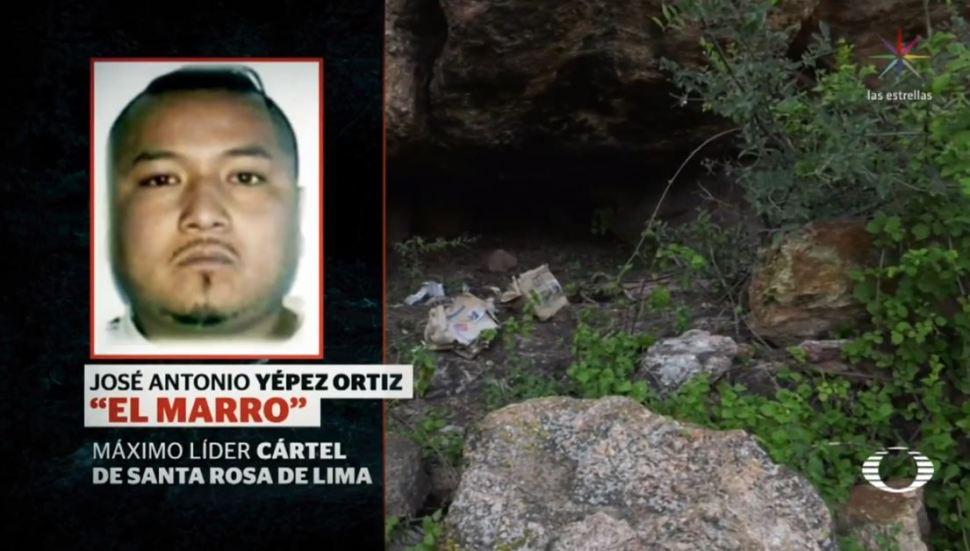 IMAGEN Desde las entrañas de 'La Cueva', escondite de 'El Marro'