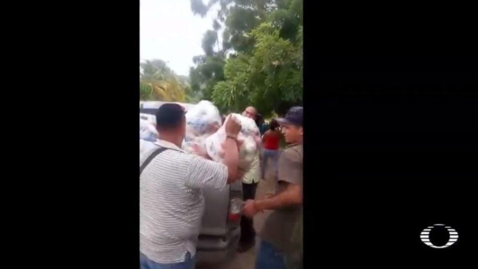 Foto VIDEO: 'El Mencho' entrega ayuda a damnificados