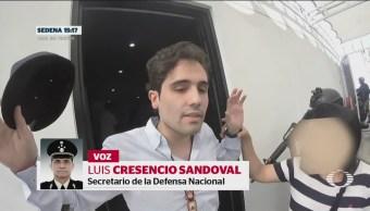 Foto: Video Detención Ovidio Guzmán Culiacán Sinaloa 30 Octubre 2019