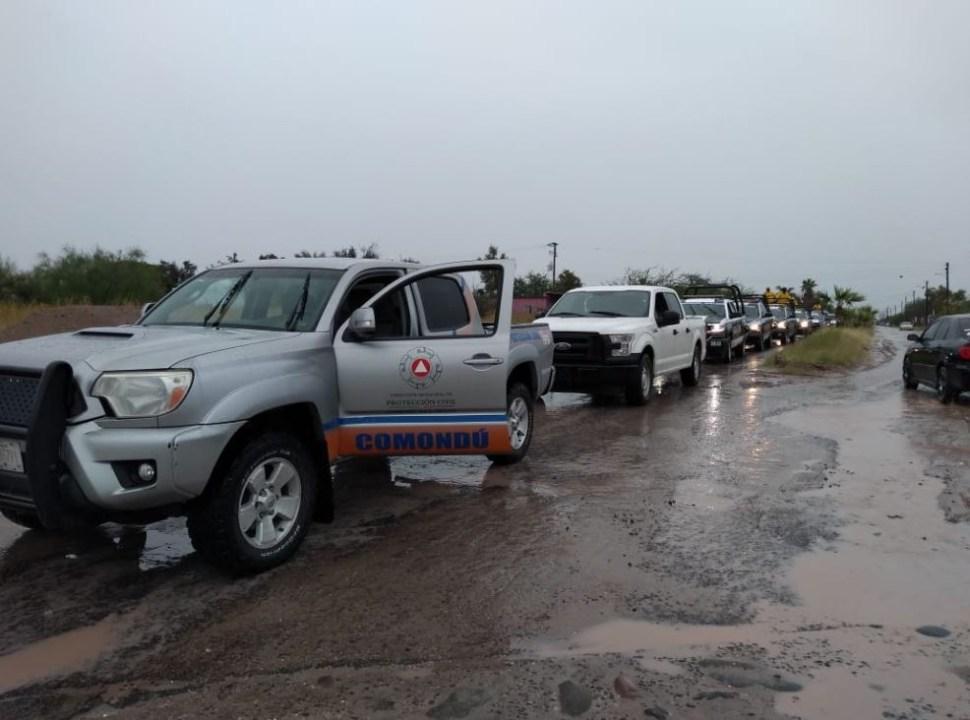 Foto Video Tromba en Baja California Sur provoca severos daños