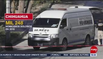 FOTO: Violento fin de semana en Cd. Juárez deja 20 muertos, 28 octubre 2019