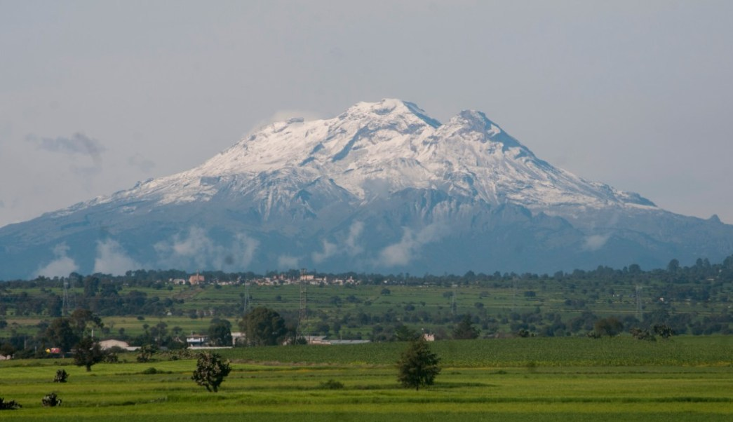 Foto: Volcán Iztaccíhuatl, 22 de julio de 2014