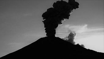 FOTO: Don Goyo registró un tren de exhalaciones