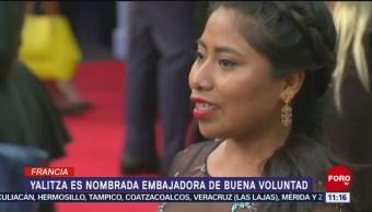 Yalitza Aparicio, embajadora de Buena Voluntad de Unesco