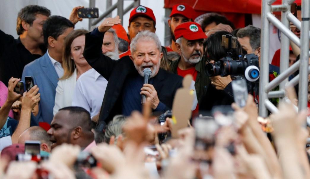 Luiz Inácio Lula da Silva libre