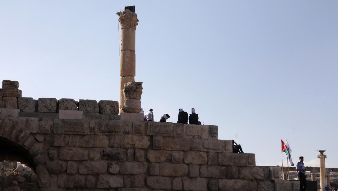 zona arqueológico de Gerasa