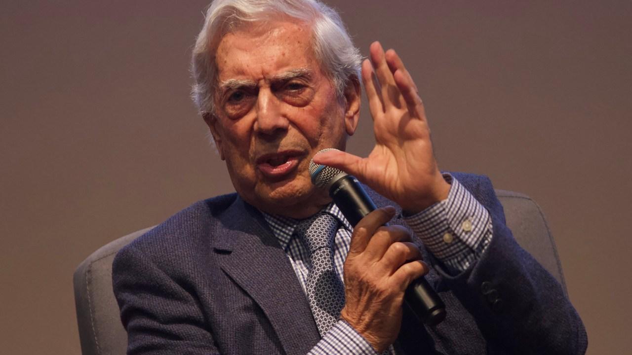 Foto: México retrocede con AMLO: Vargas Llosa, 29 de noviembre de 2019 (ANDREA MURCIA /CUARTOSCURO.COM)