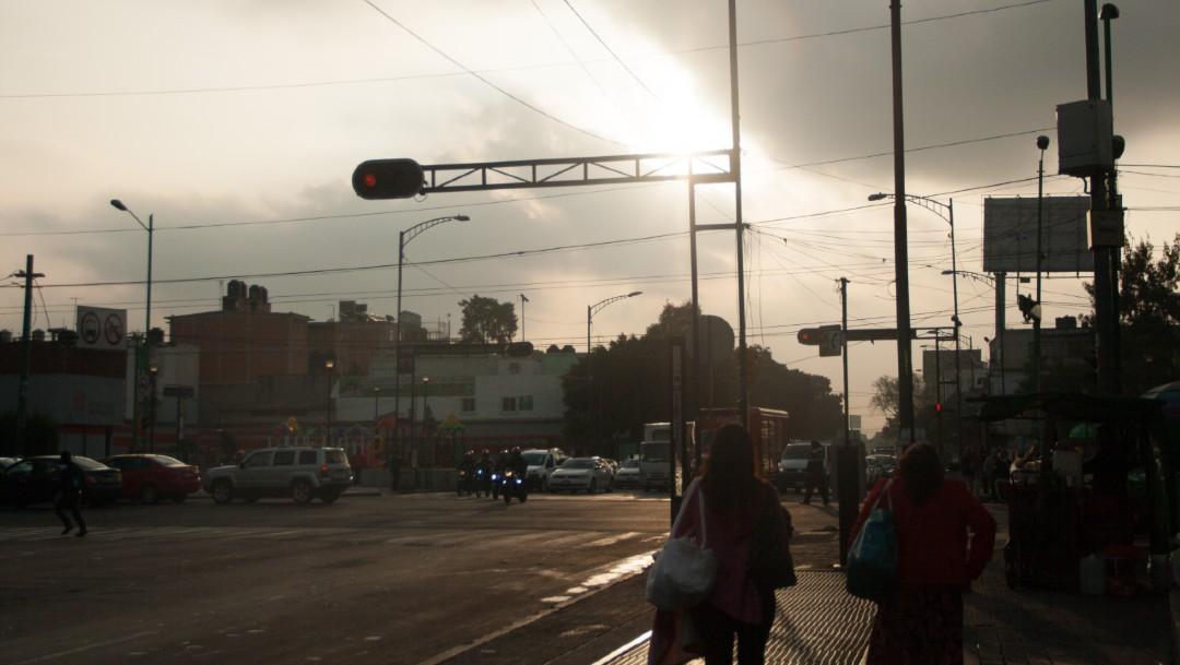 Foto: Cielo medio nublado en la Ciudad de México, 29 noviembre 2019