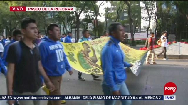 FOTO: Alistan Marcha CDMX Por 43 Normalistas Ayotzinapa