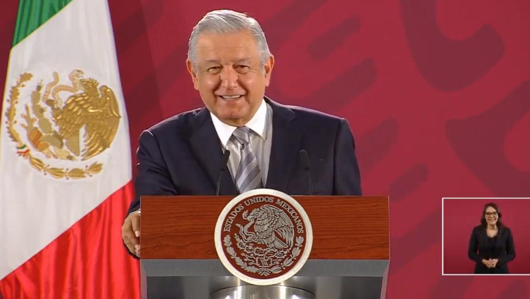 FOTO AMLO convocatoa al Zócalo CDMX el 1 diciembre de 2019 a todos los mexicanos contra la corrupción (YouTube)