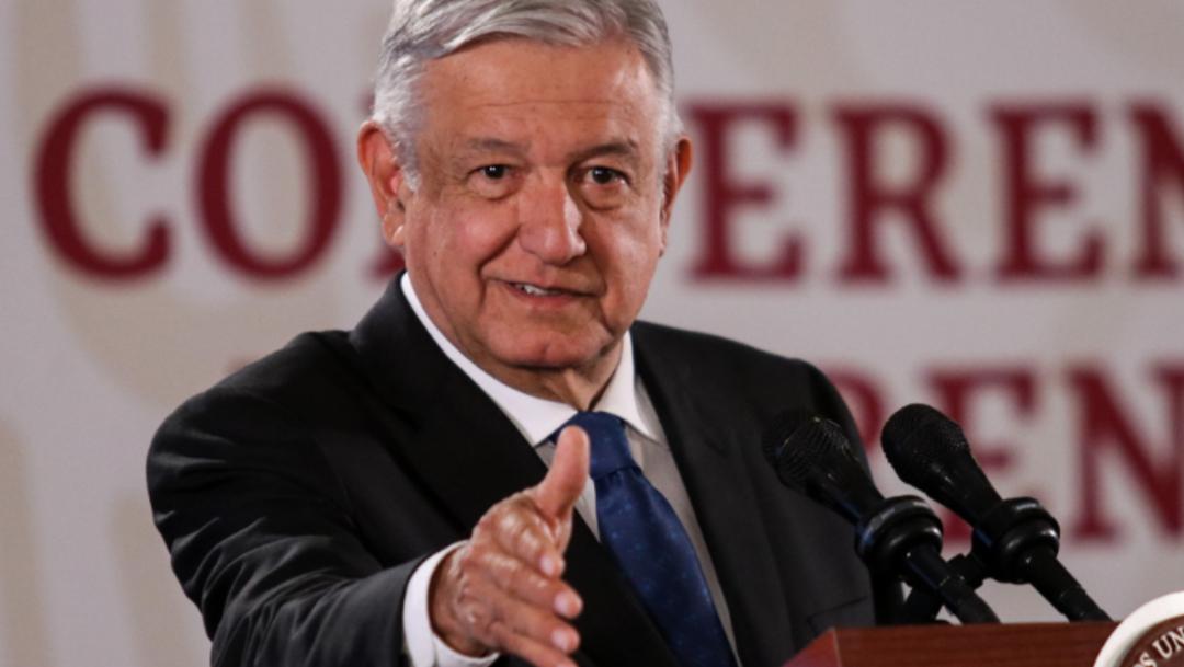 Foto: El presidente Andrés Manuel López Obrador afirmó que no permitiría otro golpe de Estado, 2 de noviembre de 2019 (Galo Cañas /Cuartoscuro.com)