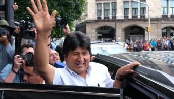 FOTO AMLO denuncia mezquindad por críticas a Evo y su visita a restaurante de lujo (Cuartoscuro/Graciela López)