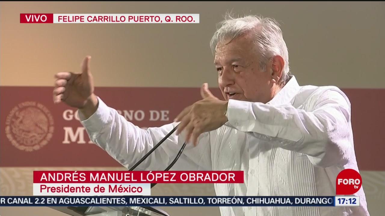 AMLO dialoga con habitantes de Felipe Carrillo Puerto - Noticieros Televisa