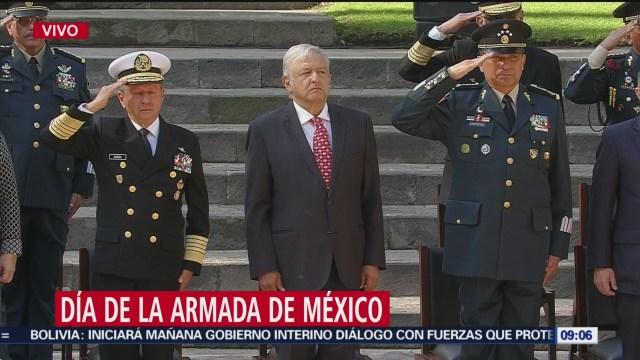 FOTO: AMLO Encabeza Actos Por Día Armada México